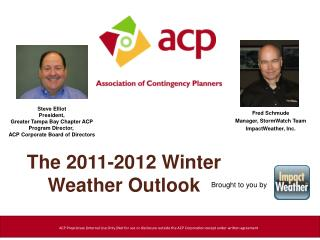 The 2011-2012 Winter Weather Outlook