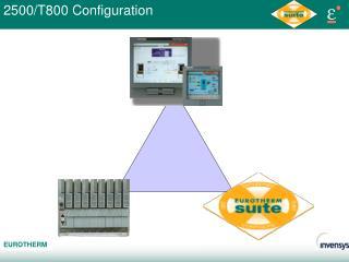 2500/T800 Configuration