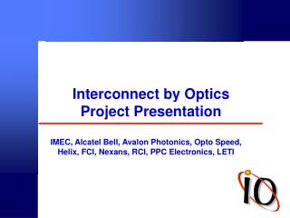 Interconnect by Optics Project Presentation