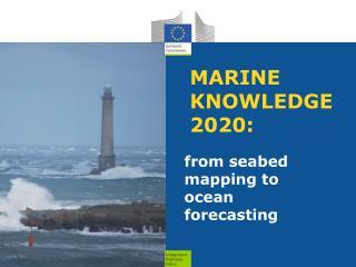 MARINE KNOWLEDGE 2020: