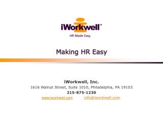 Making HR Easy