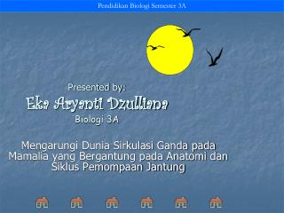 Presented by: Eka Aryanti Dzulliana Biologi 3A