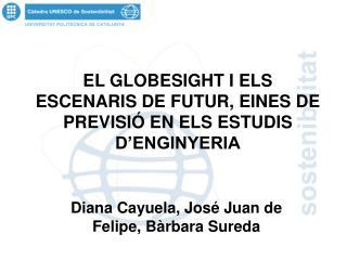 EL GLOBESIGHT I ELS ESCENARIS DE FUTUR, EINES DE PREVISIÓ EN ELS ESTUDIS D'ENGINYERIA