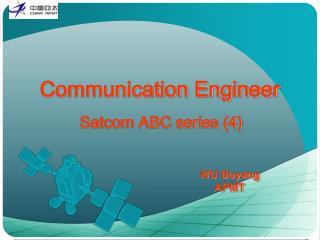 Communication Engineer Satcom ABC series (4)