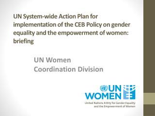 UN Women Coordination Division
