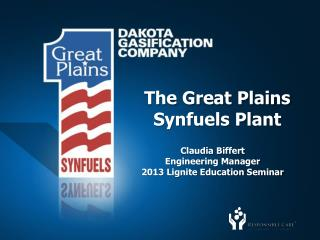 The Great Plains Synfuels Plant