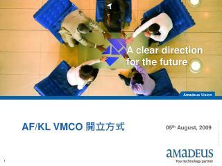 AF/KL VMCO  ????