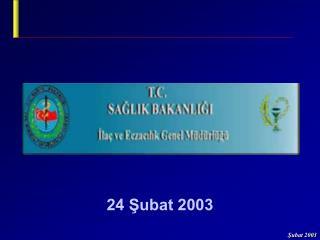 24 Şubat 2003
