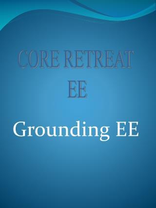 Grounding EE