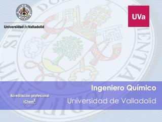 Ingeniero Qu�mico Universidad de Valladolid