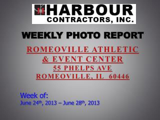 ROMEOVILLE ATHLETIC  & EVENT CENTER 55 Phelps ave Romeoville, il  60446