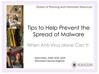 Tips to Help Prevent the Spread of Malware