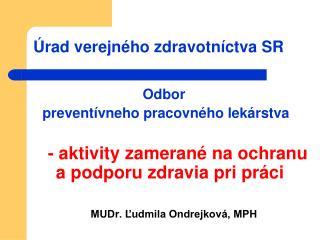 Úrad verejného zdravotníctva SR