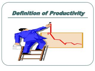 Definition of Productivity
