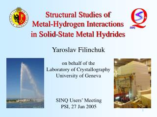 Structural Studies of  Metal-Hydrogen Interactions in Solid-State Metal Hydrides