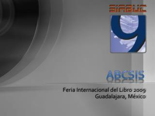 Feria Internacional del Libro 2009 Guadalajara, México