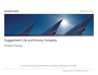 Guggenheim Life and Annuity Company