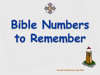 Bible Numbers to Remember