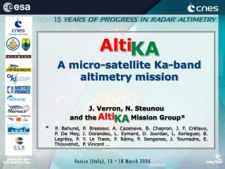 A micro-satellite Ka-band altimetry mission