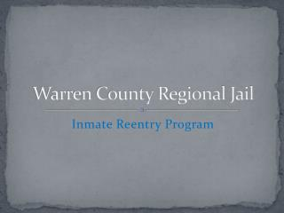 Warren County Regional Jail