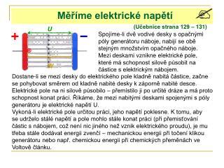 Měříme elektrické napětí