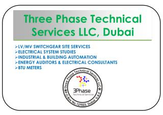 Three Phase Technical Services LLC, Dubai