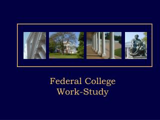 Federal College Work-Study