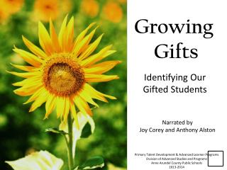 Growing  Gifts