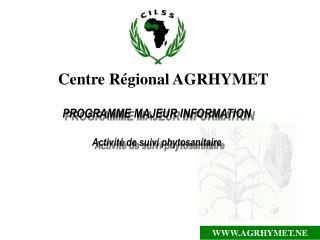 Centre Régional AGRHYMET