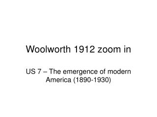 Woolworth 1912 zoom in