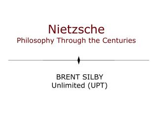 Nietzsche Philosophy Through the Centuries