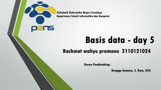 Basis data - day 5