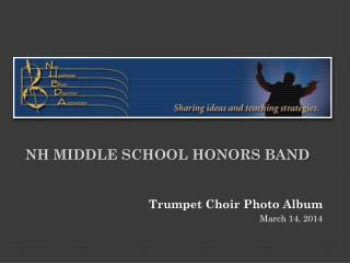 NH Middle School Honors Band