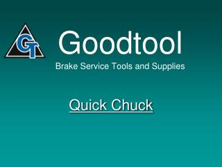 Goodtool Brake Service Tools and Supplies