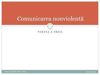 Comunicarea nonviolent?