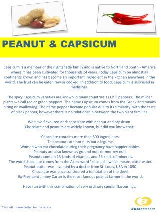 PEANUT & CAPSICUM