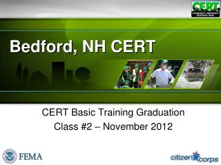 Bedford, NH CERT