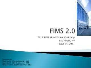 FIMS 2.0