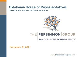 Oklahoma House of Representatives Government Modernization Committee
