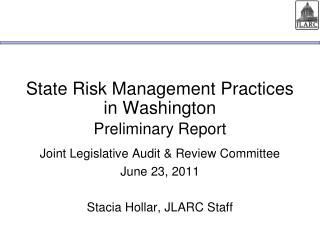 State Risk Management Practices in Washington
