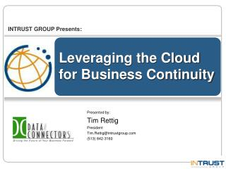 Leveraging the Cloud for Business Continuity