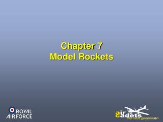 Chapter 7 Model Rockets