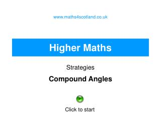 Higher Maths