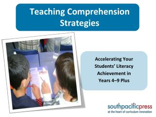 Teaching Comprehension Strategies