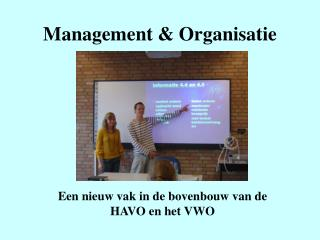 Management & Organisatie