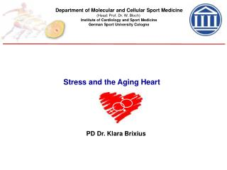 Stress and the Aging Heart