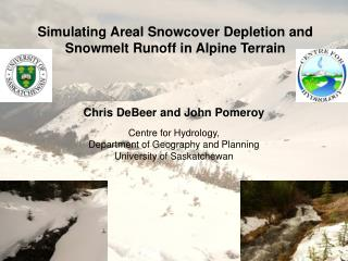 Simulating Areal Snowcover Depletion and Snowmelt Runoff in Alpine Terrain