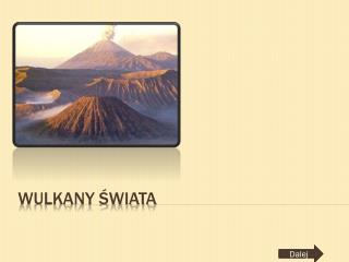 Wulkany świata