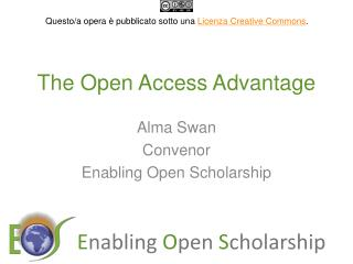 The Open Access Advantage