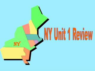 NY Unit 1 Review